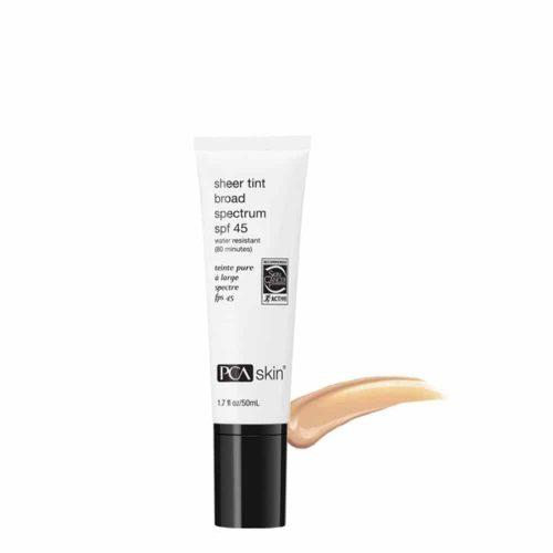 PCA Skin Sheer Tint Broad Spectrum SPF 45